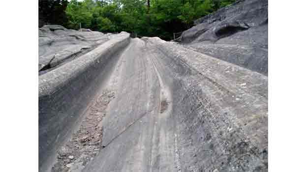 Glacial Grooves, Put-in Bay, Ohio